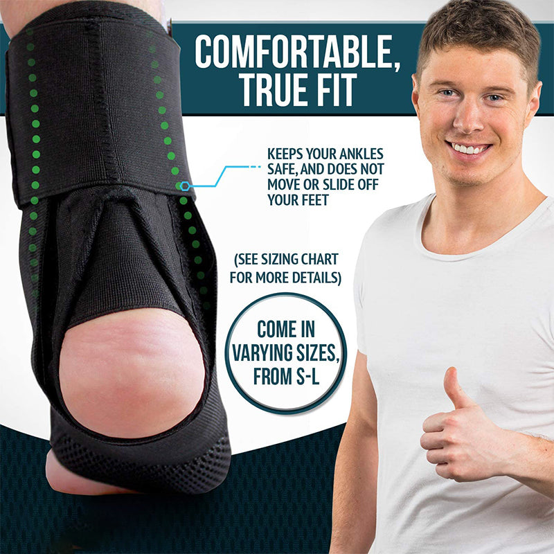 MODERATE - SPORT Lace Up Ankle Brace