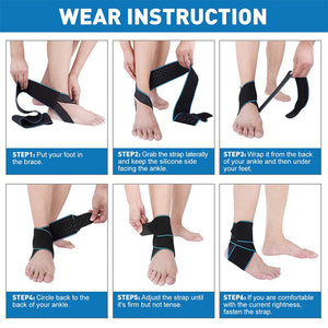 MODERATE - SPORT Adjustable Ankle Brace