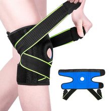 Load image into Gallery viewer, Knee Brace with Side Stabilizers & Patella Gel Pads For Men & Women