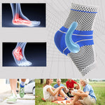 Load image into Gallery viewer, MODERATE - SPORT Ankle Compression Brace With Viscoelastic Pads