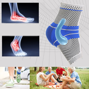 MODERATE - SPORT Ankle Compression Brace With Viscoelastic Pads