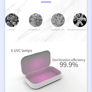 UV Sterilizer Box with Wireless Charging