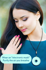 Load image into Gallery viewer, Anion Wearable Personal Purifier Necklace