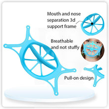Load image into Gallery viewer, Kids 6th Generation Upgraded Version Silicone 3D Mask Bracket