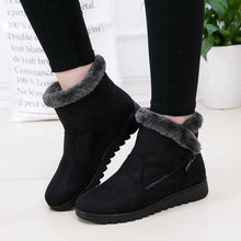 Load image into Gallery viewer, Dropshipping Casual shoes woman winter ankle boots women shoes 2021 new fashion non-slip warm plush zipper women snow boots