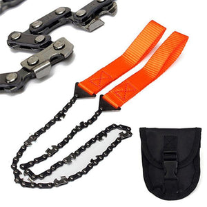 Portable Outdoor Survival chain Saw
