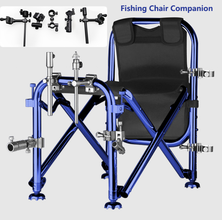 Fishing Chair Aluminum-magnesium Alloy Fittings 5-piece