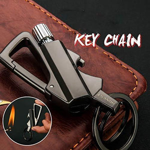 Multi-Function Metal Permanent Match Keychain