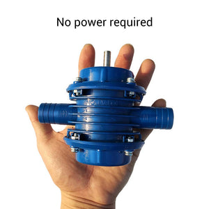 Household Drill Powered Pumps -- No Electricity Required