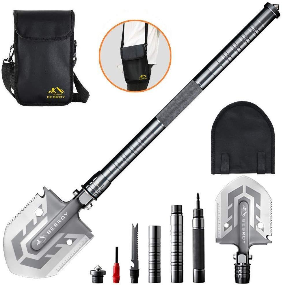 Ultimate Survival Tool 23-in-1 Multi-Purpose Folding Shovel