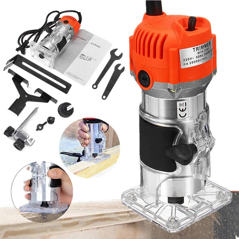 Electric Hand Wood Trimmer Wood Router