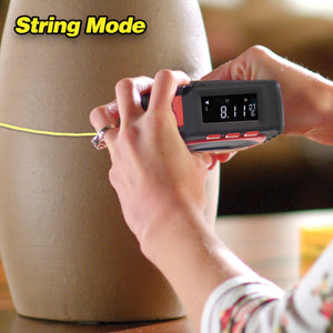 3-in-1 Digital Measurement Tape (String Mode, Sonic Mode And Roller Mode)