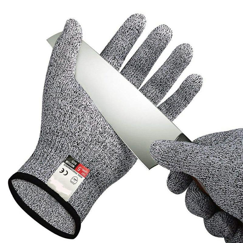 Anti-cutting and Stab-resistant Safety Gardening Metal Gloves