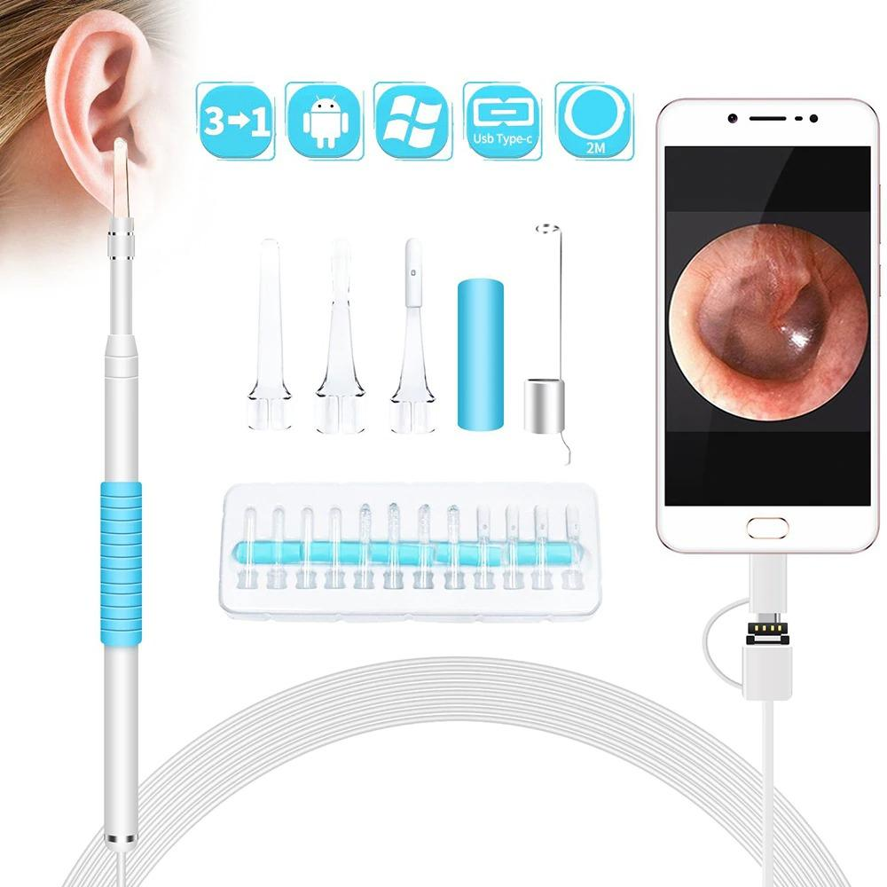 In Ear Cleaning Endoscope