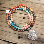 Alignment (Chakra Healing) Mala Bead Necklace