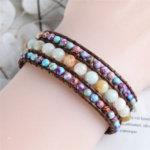 Be Happy- Emperor Stone Bracelet