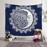Space &  Moon Tapestry