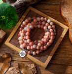 Grace & Happiness Natural Stone Mala/Bracelet