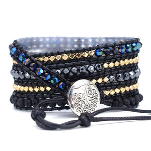 Powerful and Vitality Lava Stone Bracelet - Vanillya Spiritual Jewelry