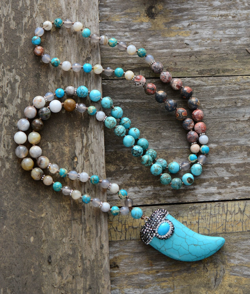 Creativity Turquoise Necklace