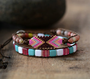Bohemia Colorful Seed Beads Bracelet