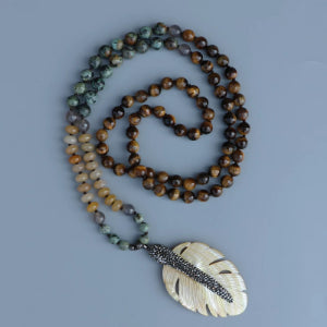 Courageous Tiger's Eye Necklaces