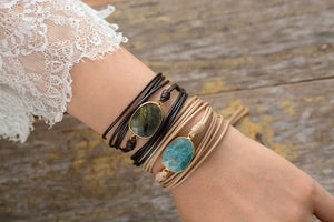 Belonging Rope Wrap Bracelet