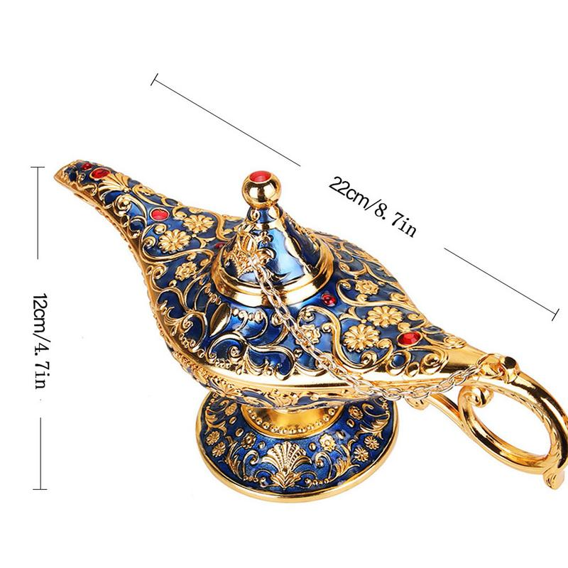 Legend Aladdin Lamp Magic Genie - Vanillya Spiritual Jewelry