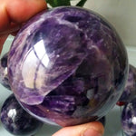 Natural Amethyst Stone Sphere