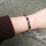 Live in Color Agate Bracelet