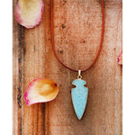 Arrowhead Amazonite Necklace