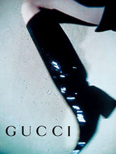 Load image into Gallery viewer, Gucci Tom Ford era black patent leather boots FW 1997 collection