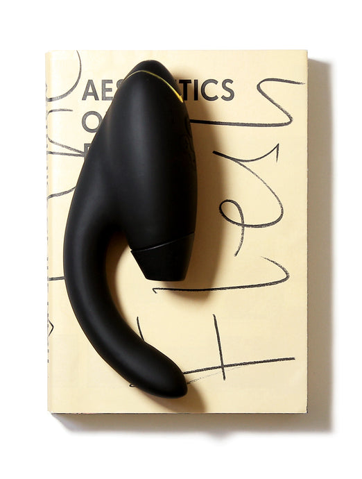Womanizer Duo Dual Stimulation Rabbit Style Vibrator Air Pulse G Spot