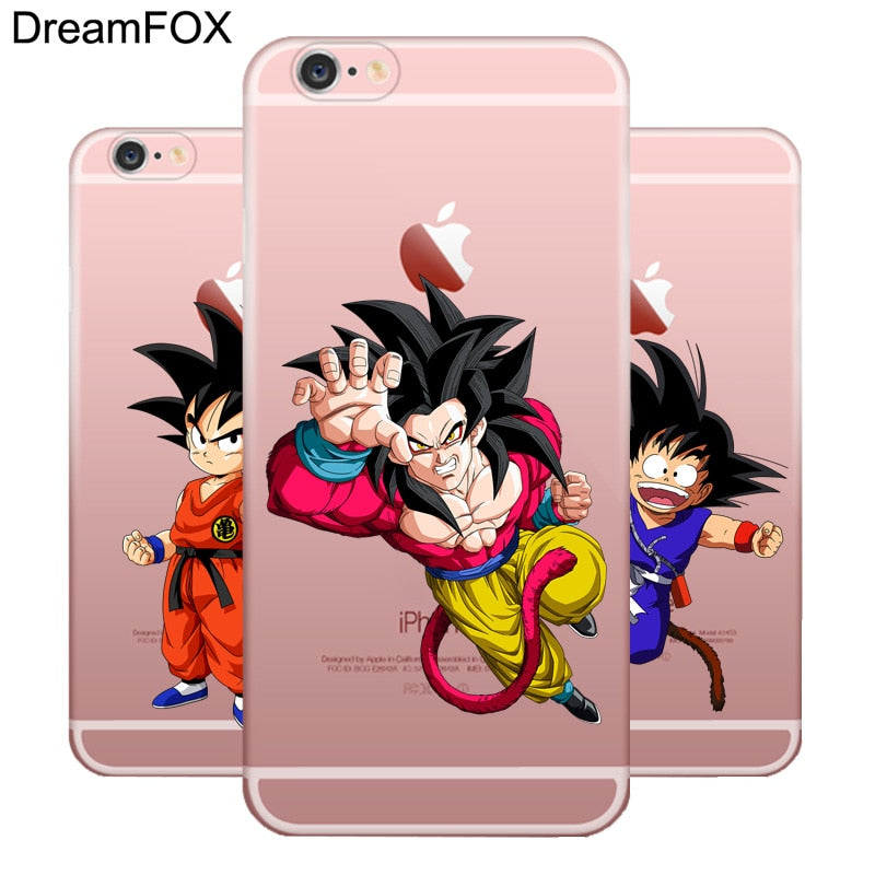 M093 Dragon Ball Man Wukong Soft TPU Silicone Case Cover For Apple iPhone 11 Pro X XR XS Max 8 7 6 6S Plus 5 5S SE 5C 4 4S