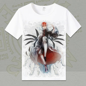 The Uchiha Clan T Shirt Men Anime Naruto T Shirts New Summer Short Sleeve O-neck Cotton Uchiha Sasuke T-shirt Tops TX012