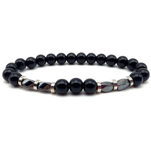 Classic Fashion Men Women Bead Bracelet 8mm Tiger Eye Matte Bead Stone Charm Bracelet For Men Women Jewelry