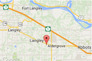 ALDERGROVE BC is LOCATED in LANGLEY TOWNSHIP BC