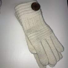 Load image into Gallery viewer, Button wool gloves