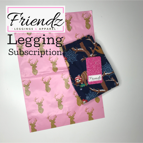 Legging Subscription - Friendz Leggings Apparel