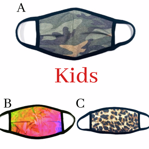 KIDS Fashion Face Coverings