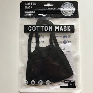 Cotton mask adult size