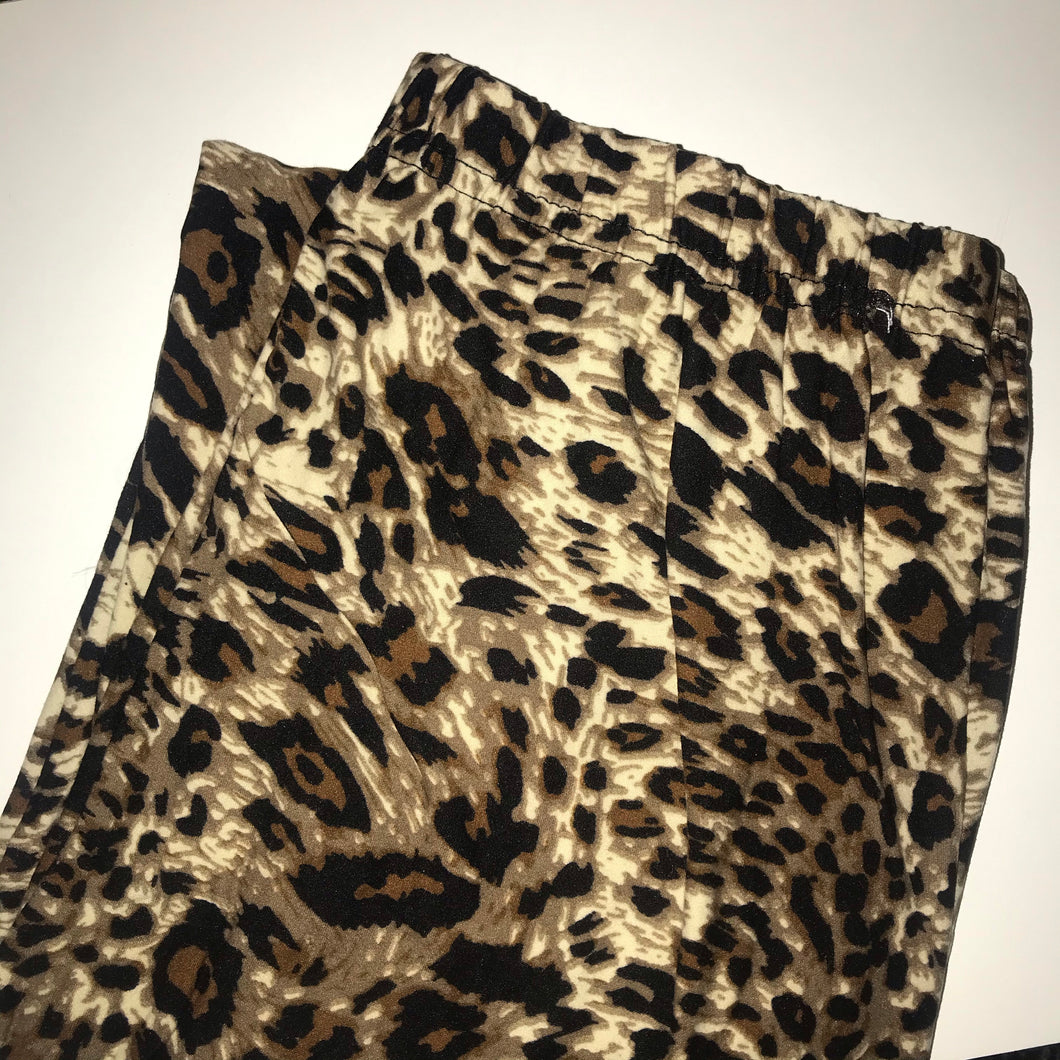 Leopard brown leggings