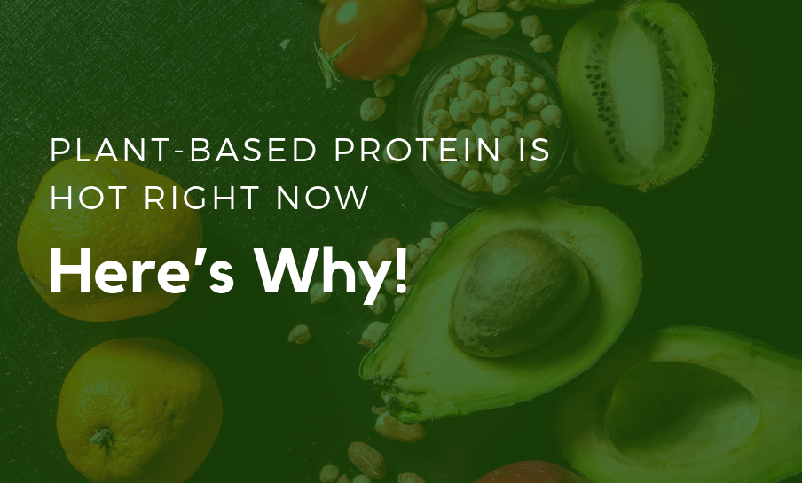 Plant-Based Protein is HOT right now– Here's Why!