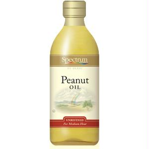 Spectrum Naturals Unrefined Peanut Oil (12x16 Oz)