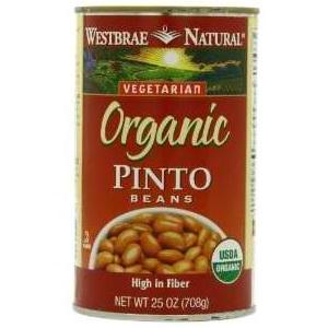 Westbrae Foods Pinto Beans (12x25 Oz)