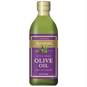 Spectrum Naturals Unrefined Extra Virgin Olive Oil ( 6x8 Oz)