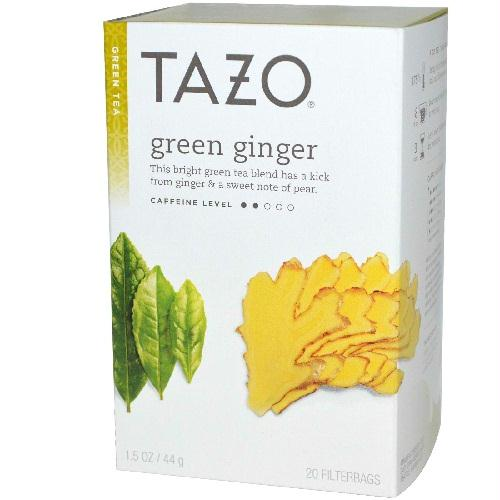 Tazo Tea Ginger Green Tea (6x20 Bag)