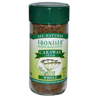 Frontier Herb Whole Caraway Seed (1x1.84 Oz)