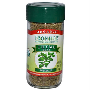 Frontier Herb Whole Organic Thyme Leaf (1x.8 Oz)