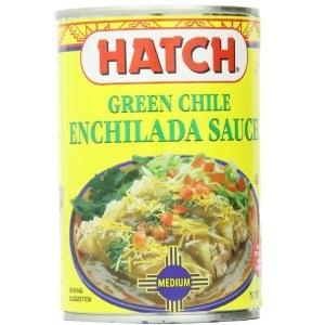 Hatch Farms Medium Green Chile Enchilada (12x15 Oz)